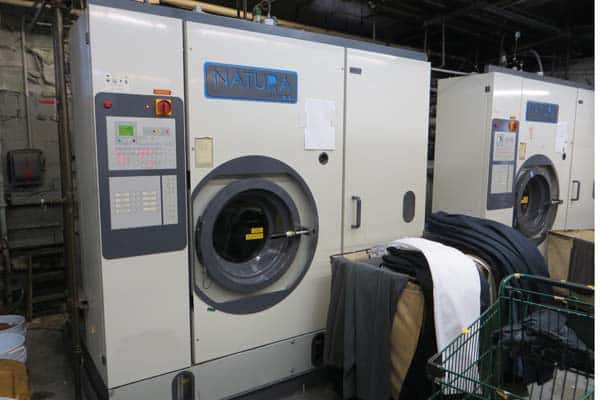 Dry cleaning and laundry equipment appraisal