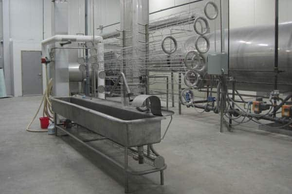 Industrial food processing equipment appraisal