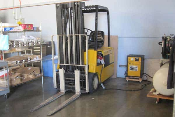 Material handling equipment appraisal