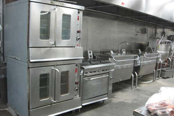 Restaurant and catering equipment appraisal