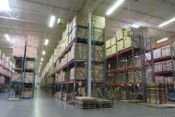 Warehouse and distribution equipment appraisal